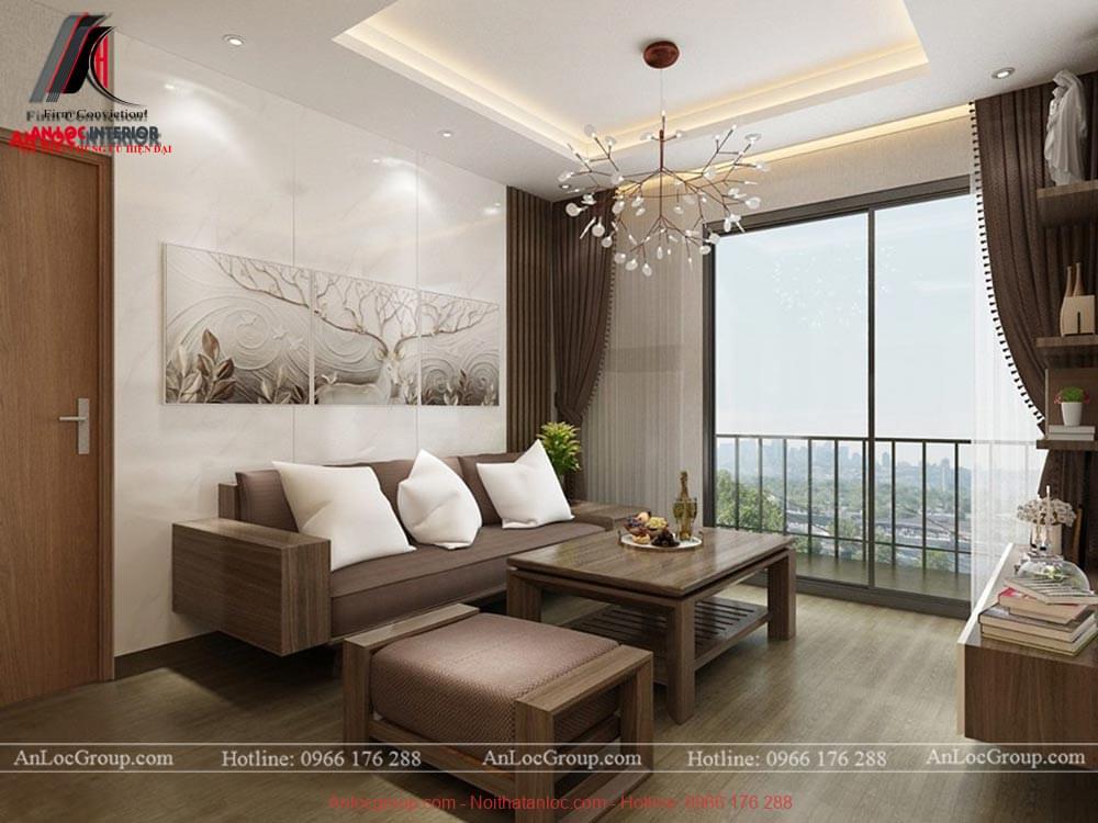 Mẫu thiết kế nội thất căn hộ 3 phòng ngủ tại An Bình City - Ảnh 3