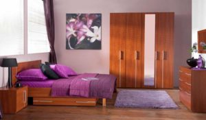 Phòng ngủ cho người mệnh Hỏa nên lựa chọn nội thất bằng gỗ