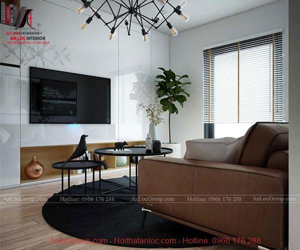 Hình ảnh nội thất căn hộ hiện đại tại Vincom Center - Ảnh 2
