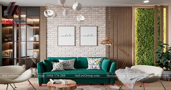 Thiết kế nội thất chung cư phong cách hiện đại tại Sunshine Garden - Ảnh 1
