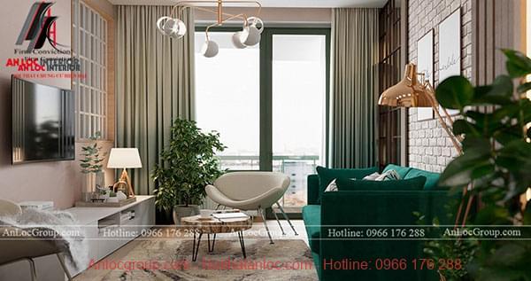 Thiết kế nội thất chung cư phong cách hiện đại tại Sunshine Garden - Ảnh 2