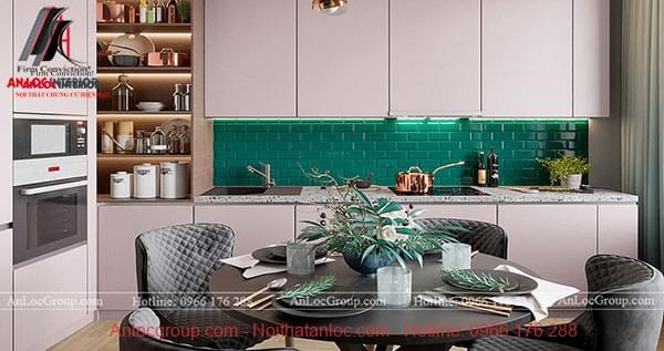 Thiết kế nội thất chung cư phong cách hiện đại tại Sunshine Garden - Ảnh 3