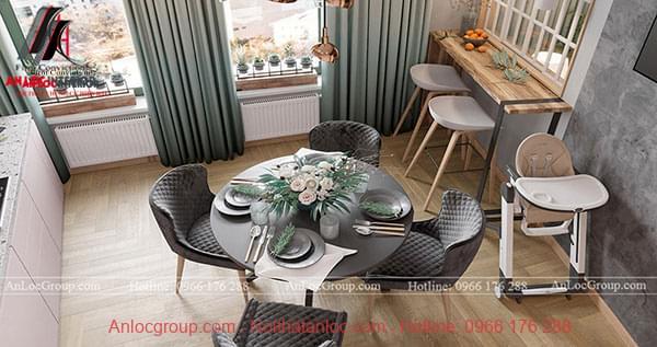 Thiết kế nội thất chung cư phong cách hiện đại tại Sunshine Garden - Ảnh 4