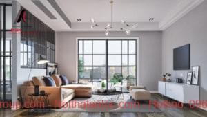 Hướng dẫn chọn sofa cho phòng khách vuông vắn