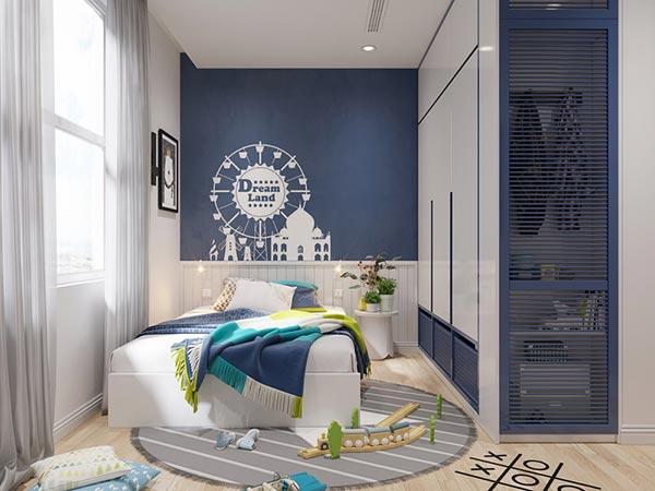 Ngắm những mảng xanh trong thiết kế căn hộ 3 phòng ngủ - Ảnh 11