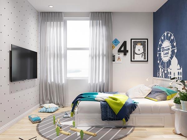 Ngắm những mảng xanh trong thiết kế căn hộ 3 phòng ngủ - Ảnh 12