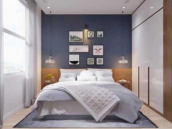 Ngắm những mảng xanh trong thiết kế căn hộ 3 phòng ngủ - Ảnh 6