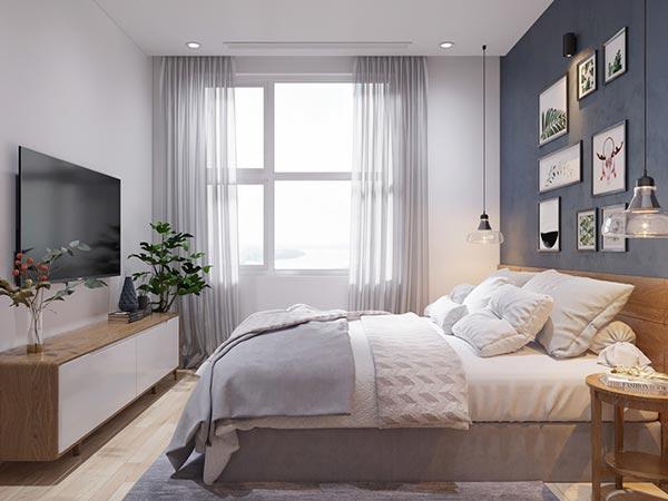 Ngắm những mảng xanh trong thiết kế căn hộ 3 phòng ngủ - Ảnh 8
