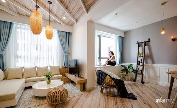 Nữ chủ nhân cá tính sở hữu căn hộ 71m2 sang trọng như Resort tại Sài Gòn