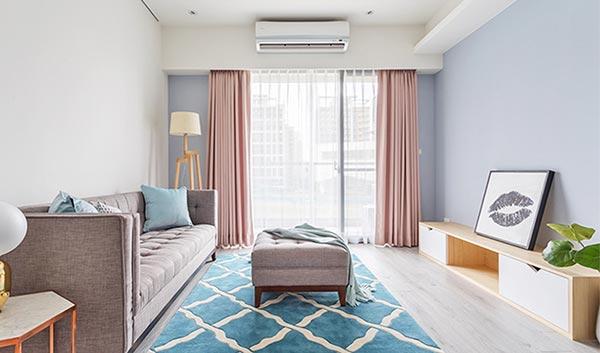 Căn hộ sang trọng với nội thất gỗ sáng màu