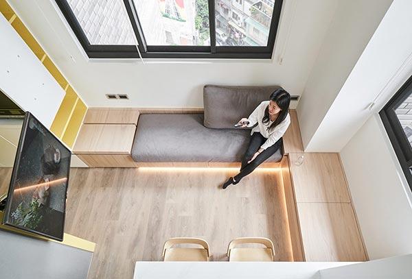 Nội thất căn hộ phong cách minimalism
