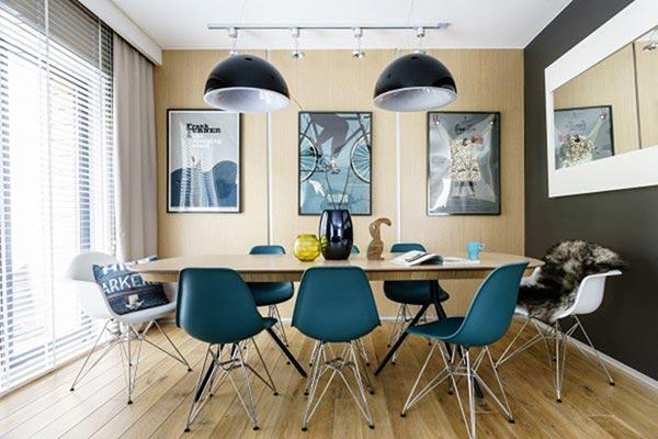 Phòng ăn phong cách hiện đại - Ảnh 8
