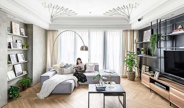 Mẫu thiết kế căn hộ đẹp, tinh tế của vợ chồng mới cưới