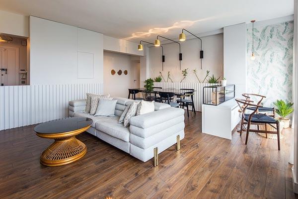 Vẻ đẹp bình yên giản dị trong nội thất căn hộ sang trọng