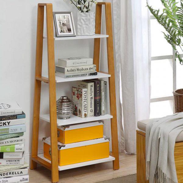Kệ lưu trữ hình thang cho không gian nhỏ