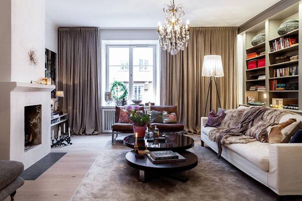 Thiết kế căn hộ 73m2 đẹp hoàn hảo
