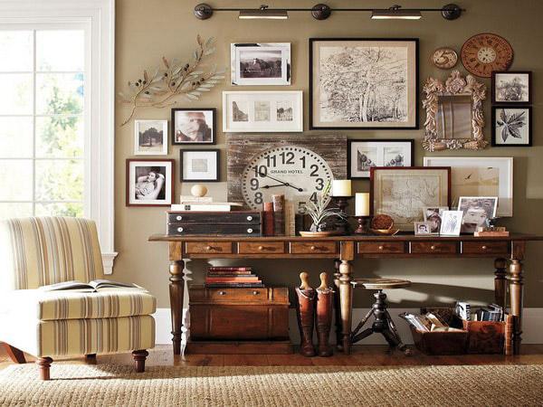 Phong cách nội thất Vintage ưu tiên món đồ mang tính hoài cổ