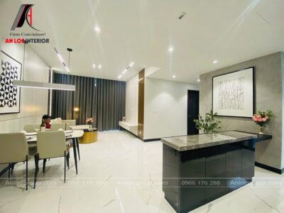 Thi công căn hộ 8m2 - Tilia Residences - Phong cách hiện đại