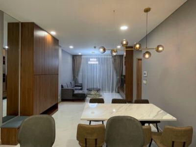 Thi công căn hộ 128m2 - Sunwah Pearl - Phong cách hiện đại